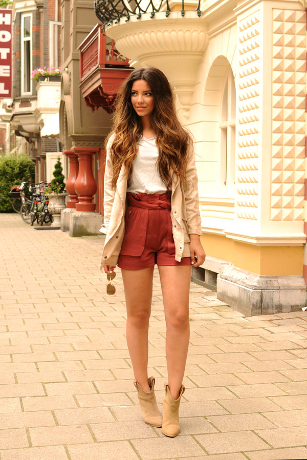 satisfashion jacket shirt shorts shoes