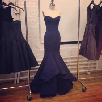 dress navy jovani sherri hill mermaid body con tight navy dress navy blue dress