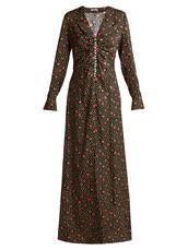 dress,embellished dress,embellished,print,black