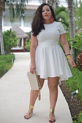 dress trendsgal white dress short sleeve short sleeve dress plus size plus size dress curvy
