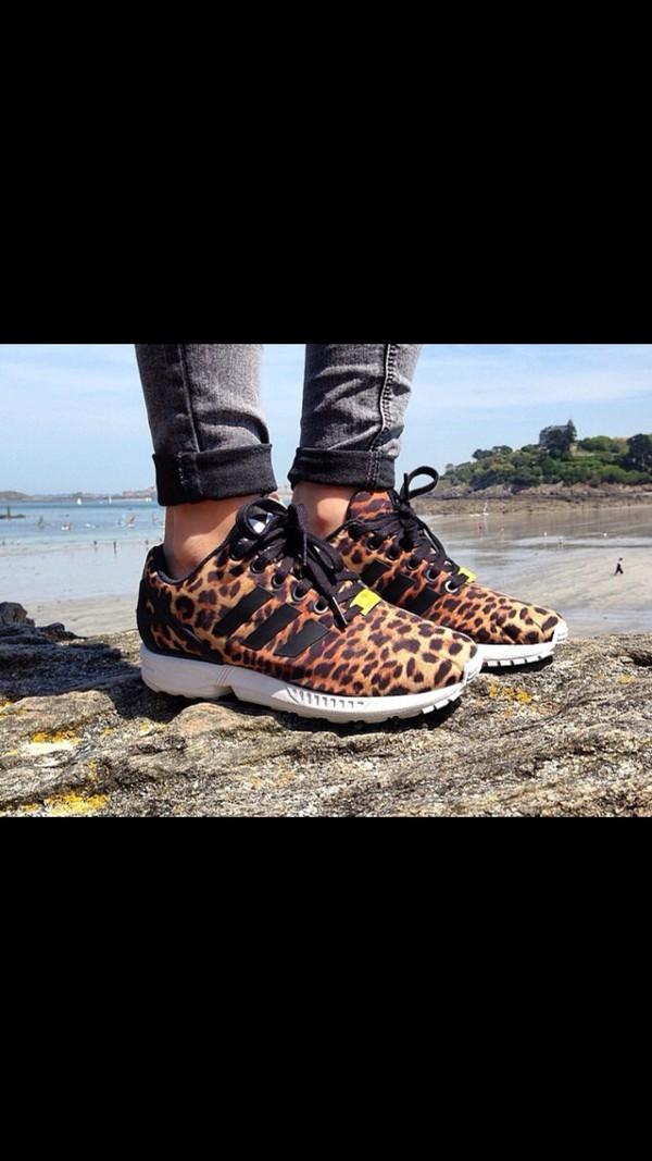 adidas leopardate zx flux prezzo
