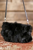 Women's Canadian Fox Fur Muff Handbag | Overland