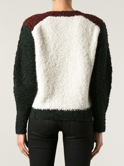 Isabel Marant 'owel' Colour-block Sweater - Concept Store Smets - Farfetch.com
