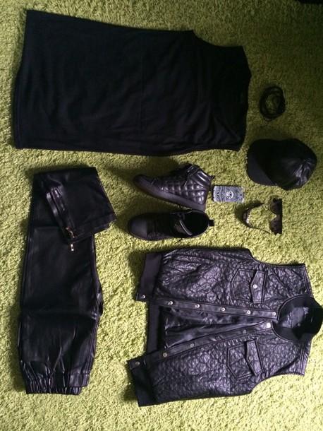 jacket black dope fashion boy menswear swag