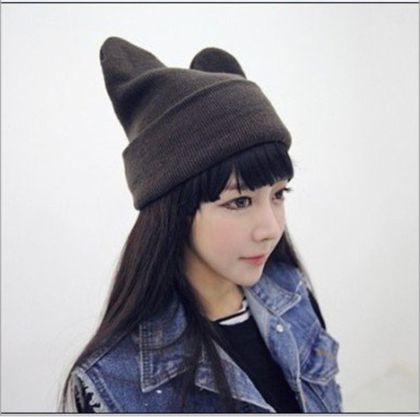 Hat Evil Evil Hat Cats Cat Hat Neko Neko Hat Kawaii Knitwear