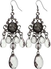 jewels,chandelier earrings,dangle earrings,candyluxx,beaded earrings