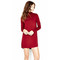 Leo turtle neck mini dress by michael lauren