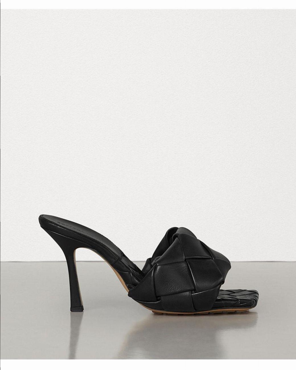 Bottega Veneta Lido Intrecciatowoven Leather Sandals New Season | HEWI London
