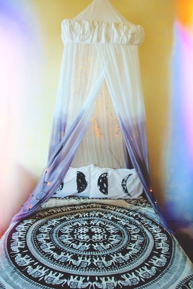 elephant moon pillow bedding
