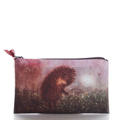bag,mist,ziziztime,cosmetic bag,cosmetic case,hedgehog