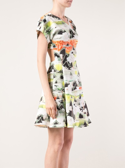 Opening Ceremony Neoprene Crossover Dress - Gente Roma - Farfetch.com