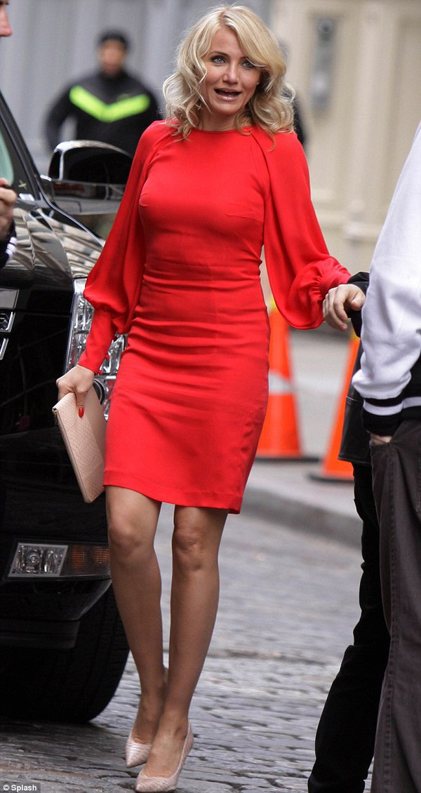 dress cameron diaz the other woman