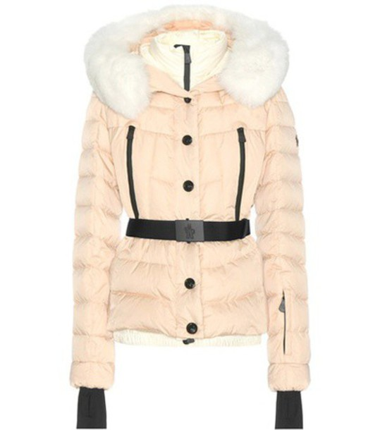 1c8835113 Moncler Grenoble Beverley Fur-trimmed Down Jacket in pink