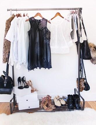 dress little black dress leather home accessory