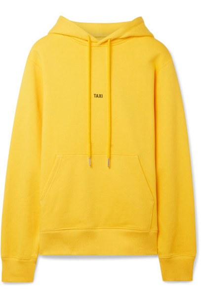top cotton yellow