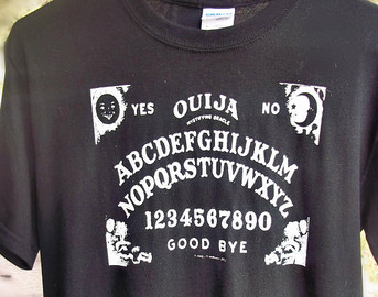Popular items for ouija board tshirt on Etsy