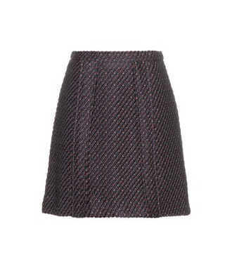 skirt mini skirt mini blue