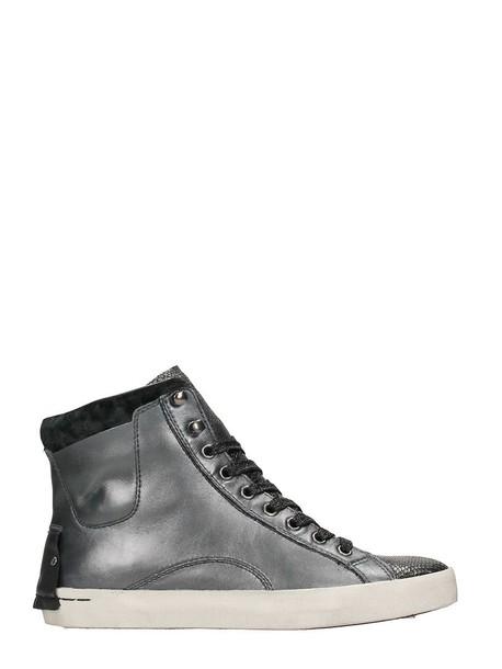 black sneakers high sneakers black silver shoes