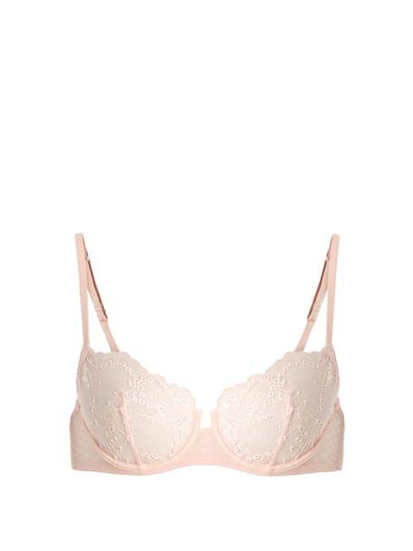 LA PERLA bra lace light pink light pink underwear