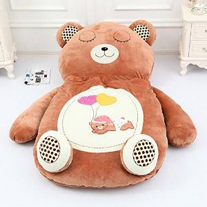 the latest 9126a 3b1bf Amazon.com - MeMoreCool Cute Cartoon Bear Sleeping Bag Boys and Girls Huge  Sofa Bed Large Size Bed Mattress for Kids -