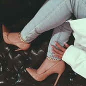 shoes,heels,nude,cute,sexy,patent shoes,nude shoes,high heel pumps