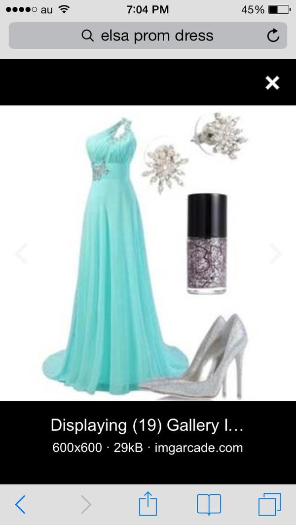 blue dress prom dress dress