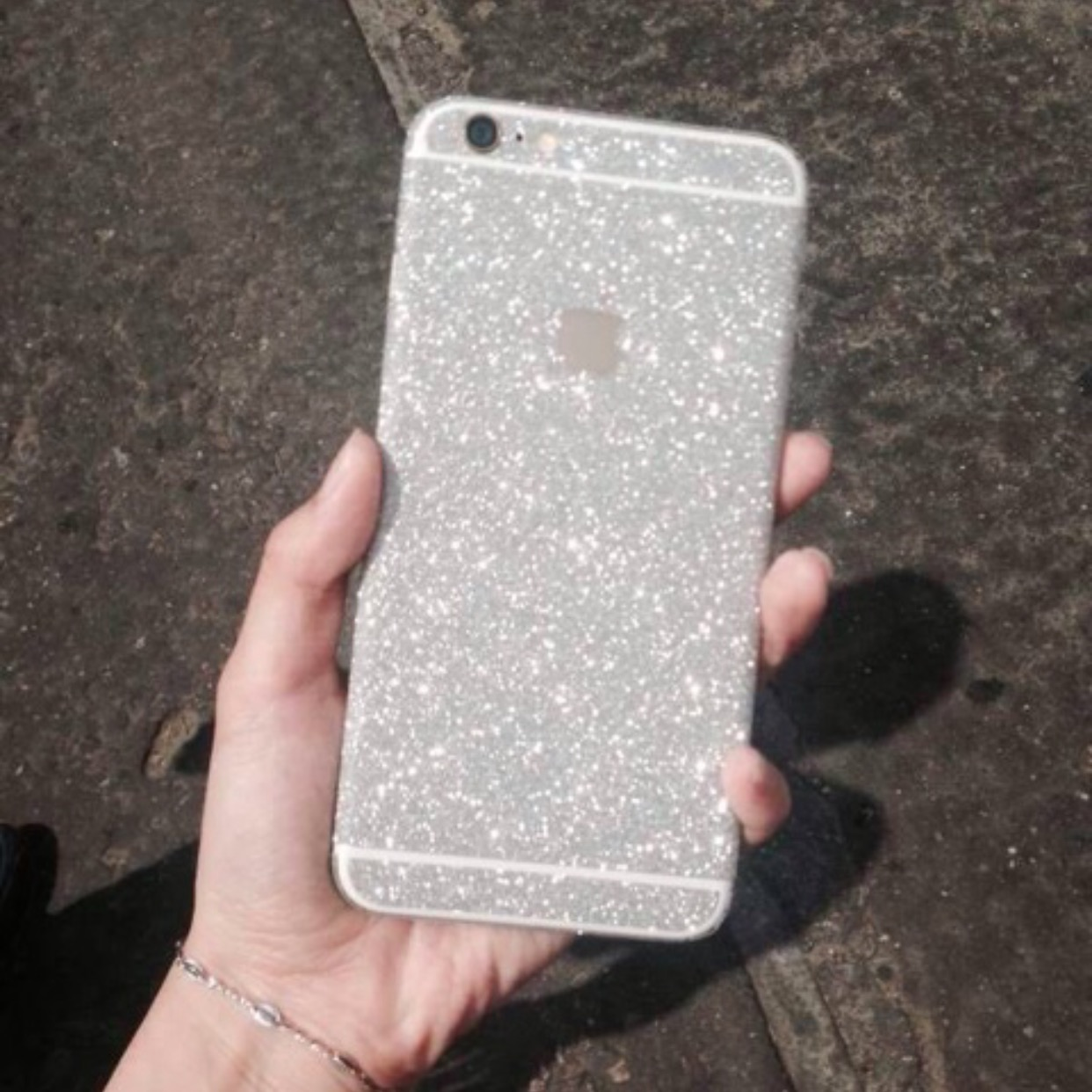 huge selection of c5488 966f4 Glitter iPhone Skin Sticker Decal - iPhone 6 6s 6 Plus 6 Plus S iPhone 5 5s