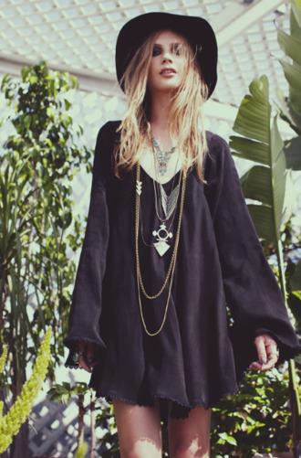dress black mini mini dress long sleeve dress