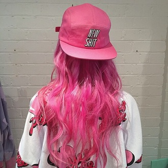 hat dope pretty pink new style fashion