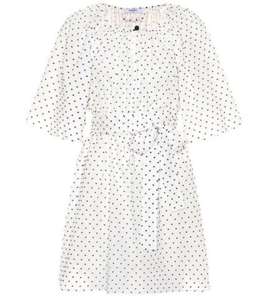 Marysia dress embroidered cotton white
