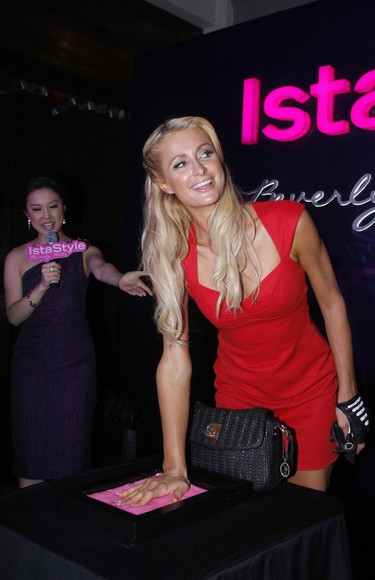 dress paris hilton red dress