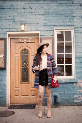 noelles favorite things blogger suede skirt black skirt winter outfits button up skirt suede boots