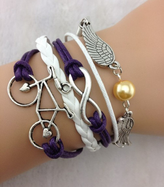 Jewels Beautiful Charming Style Women Bracelet Angel Wings