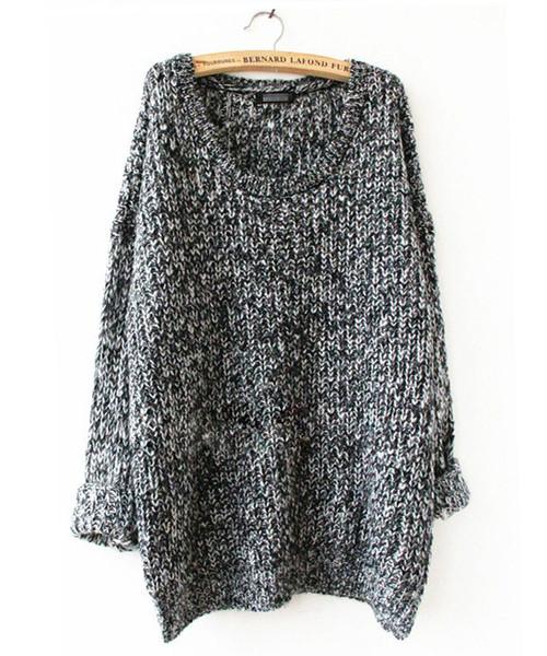 Om loose knit sweater