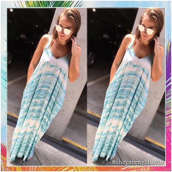dress lovesttich mila maxi boho blue white lovestitch maxi dress tie dye hippie chic summer sexy maxi dress bohemian dress celebrity style trending dress side pocket dress