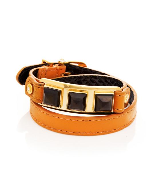 Leather Whitney Wrap Bracelet Arm Party Bracelets Henri Bendel