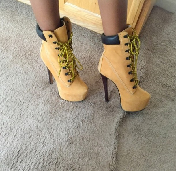 ziginy timberland heels outfit