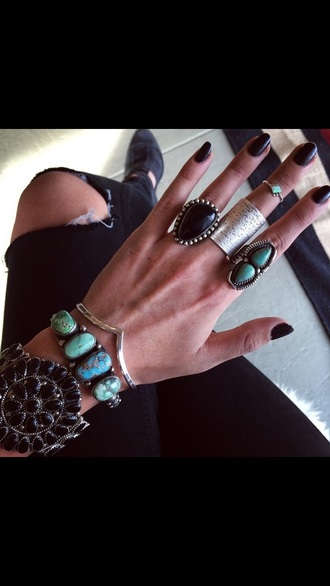 jewels round rings and tings rings pretty#