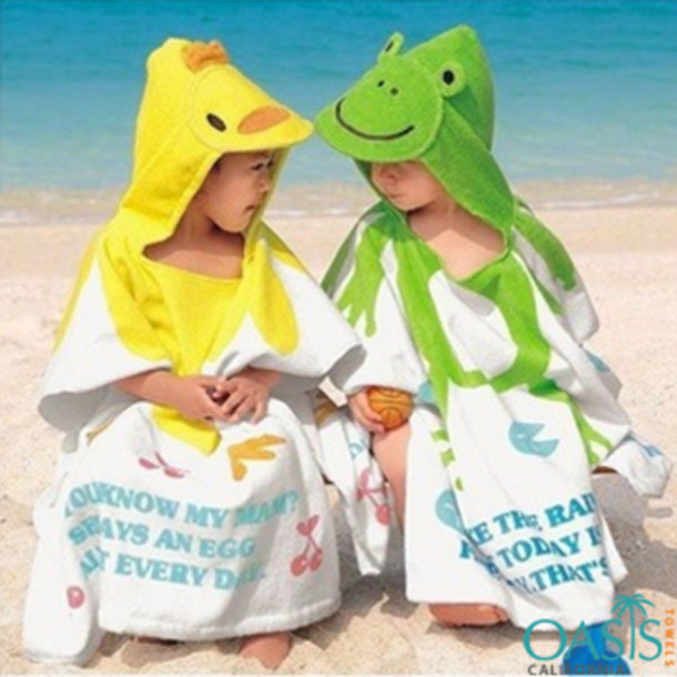 Swimwear Kids Beach Towels Wholesale Customized Beach Towels