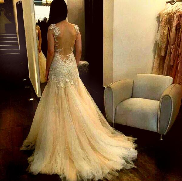 dress lace sparkle prom