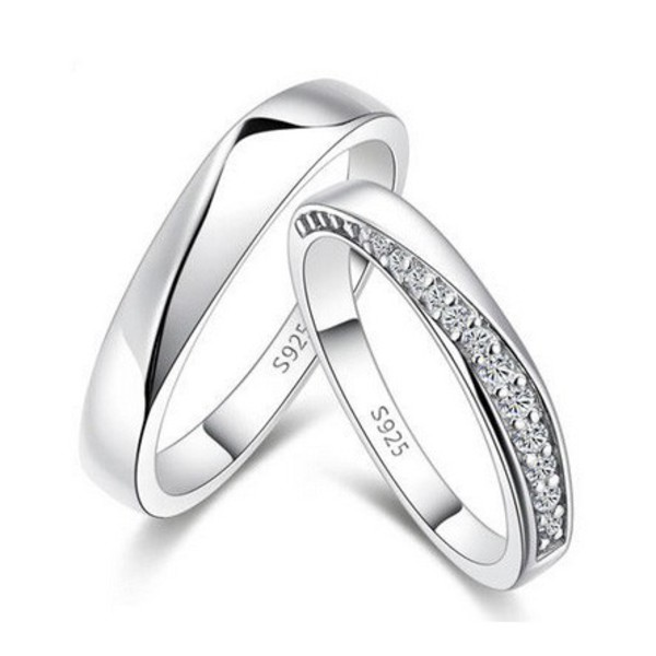jewels couples rings set personalized rings set engraved promise rings men and women rings bridal rings cubic zirconia rings his and hers rings customized rings set personalized engagement rings jewelry outfit holiday gift anniversary rings set christmas valentines gifts couples christmas gifts gifts for him gifts for her couples wedding bands ring