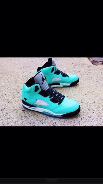 shoes jordans aqua turquoise sneaker head air jordan