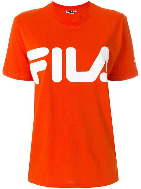 t-shirt shirt t-shirt women cotton print yellow orange top