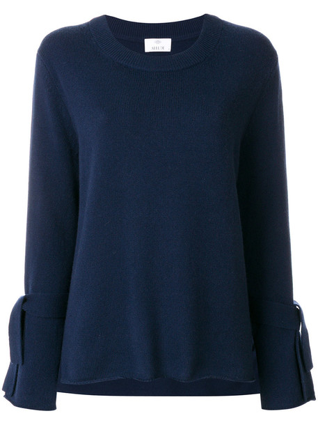 Allude women blue wool jewels