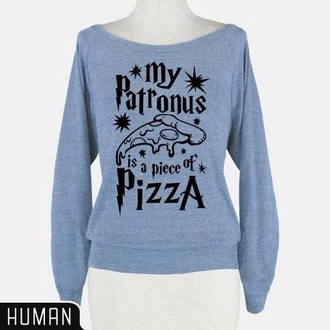 sweater harry potter sweatshirt harry potter pizza