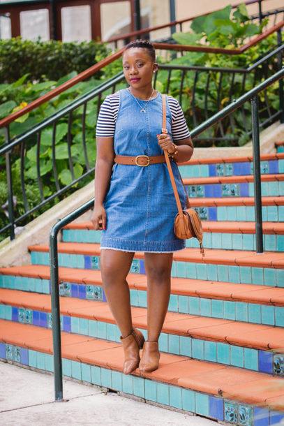 pinksole blogger jewels dress t-shirt belt shoes bag