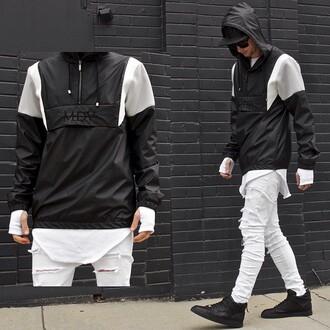 jacket maniere de voir rain jacket coat mac cosmetics rain mac festival menswear fashion