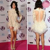 dress,lace,mini dress,lace dress,prom,homecoming,selena gomez,fashion