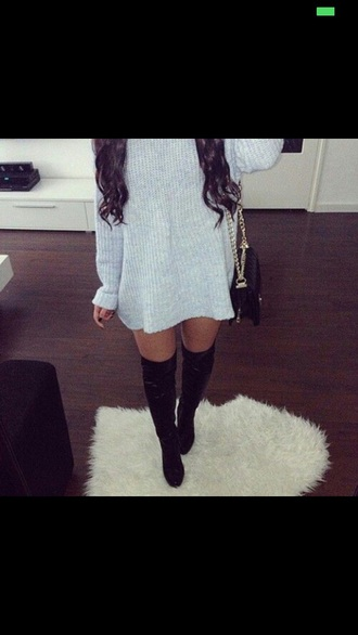 sweater long cardigan black sweater loose fit sweater