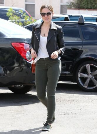pants jacket sophia bush fall outfits